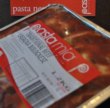Pasta Mia - Our Products - Beef Lasagne